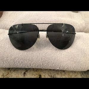 AUTHENTIC PRADA AVIATOR STYLE SUNGLASSES WOMANS